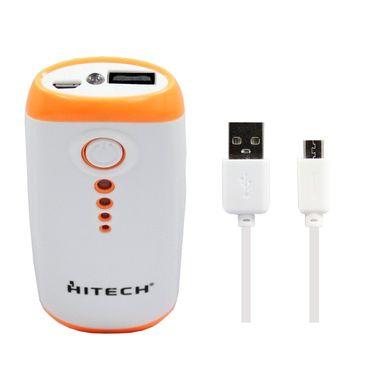 Hitech HT360 5200 mAh Power Bank - White&Orange