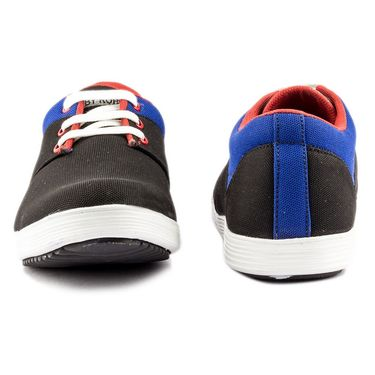 Canvas Black Casual Shoes -bn22