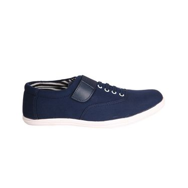 Canvas Blue Casual Shoes -bn10