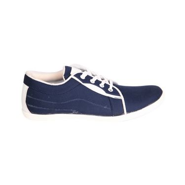 Canvas Blue Casual Shoes -bn13