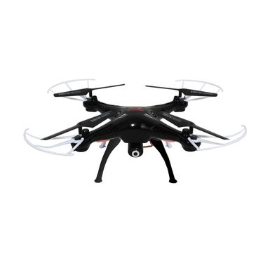 Quadcopter with FPV Camera For Real Time Video - Black