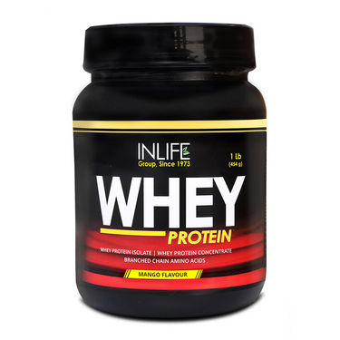 INLIFE Whey Protein 1Lb (454g) Mango Flavour