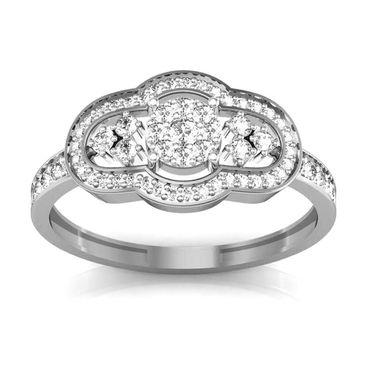 Avsar Real Gold & Swarovski Stone Piya Ring_I031wb
