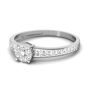 Avsar Real Gold & Swarovski Stone Nagpur Ring_I042wb