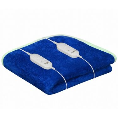 Warmland Electric Double Bed Blanket-Blue-IWS-EB-15