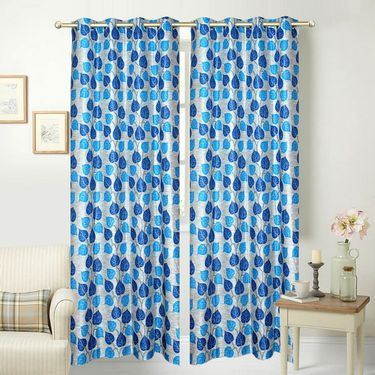 JBG Home Store Set of 2 Beautiful Design Door Curtains-JBG931_1BBLD