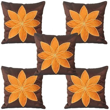 Set of 5 Multicolor Floral Cushion covers - JBG_BLP