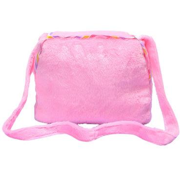 Kids Pink Stuff Bag - Hosiery Chenille 1001