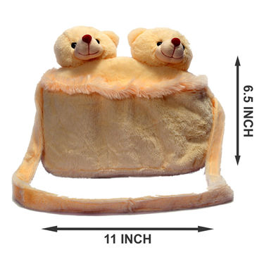 Kids Peach Stuff Bag - Hosiery Chenille 1010