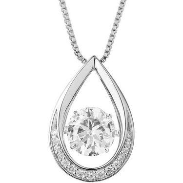 Kiara Swarovski Signity Sterling Silver Runali Pendant_Kip0477