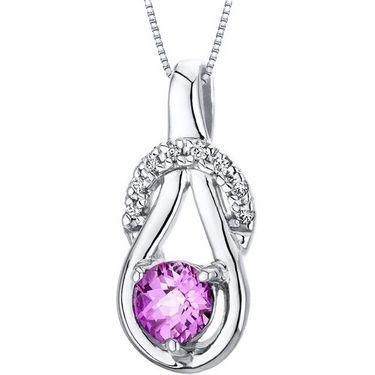 Kiara Swarovski Signity Sterling Silver Varsha Pendant_Kip0600