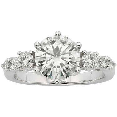Kiara Swarovski Signity Sterling Silver Runali Ring_Kir0714 - Silver