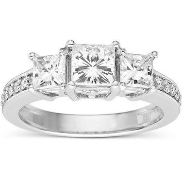 Kiara Swarovski Signity Sterling Silver Sandhya Ring_Kir0717 - Silver