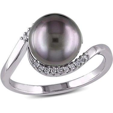 Kiara Swarovski Signity Sterling Silver Minal Ring_Kir0784 - Silver