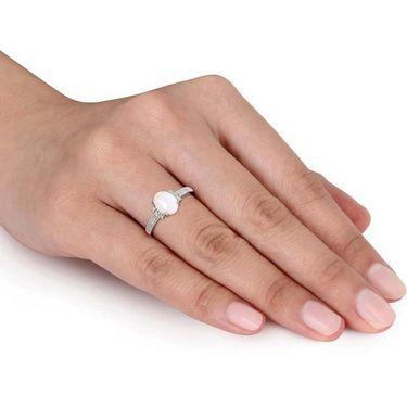 Kiara Swarovski Signity Sterling Silver Anjali Ring_Kir0813 - Silver