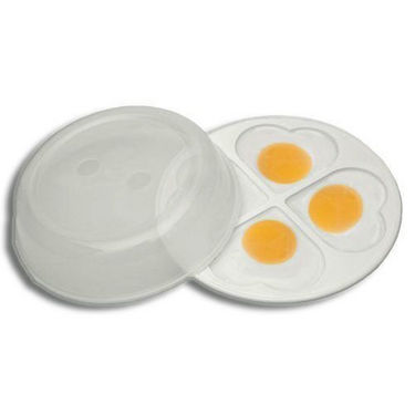 New Microwave Egg Poacher - White