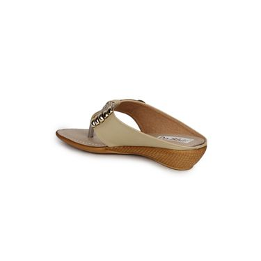 Do Bhai Faux Leather Heels KM-1388-Brown