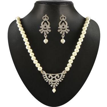 Kashish 35 Pieces Austrian Diamond Jewellery Collection by Vellani