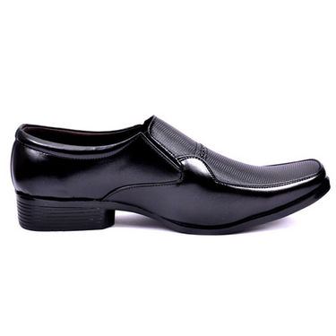 Kashmir Formal Shoes for Men - Black