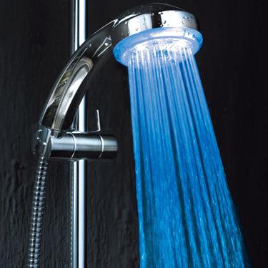 Kawachi LED Shower - Silver