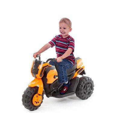 Kids ATV Electric Bike With Music and Lights - Orange