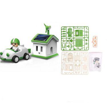 Kids Educational Solar Power House & Car Rechargeable Kit