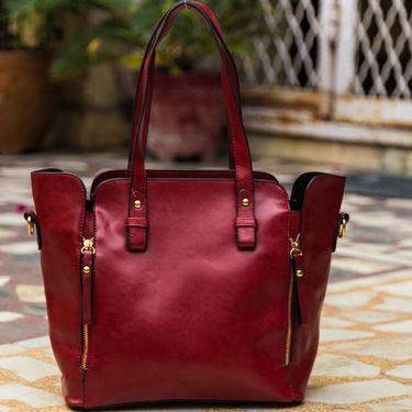 Arisha Maroon Handbag -LB 359