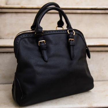 Arisha Black Handbag -LB 390