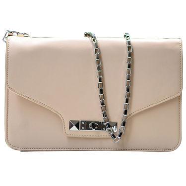Sai Arisha PU Cream Sling Bag -LB641