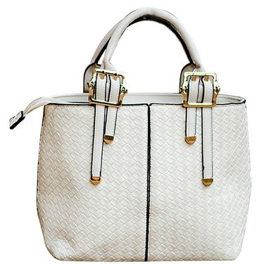 Sai Arisha PU White Handbag -LB706
