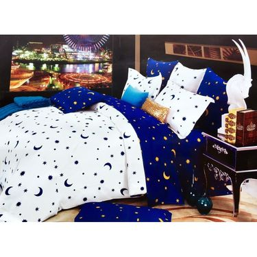 Lakshaya 100% Cotton Double Bedsheet With 2 Pillow Covers-LE-006