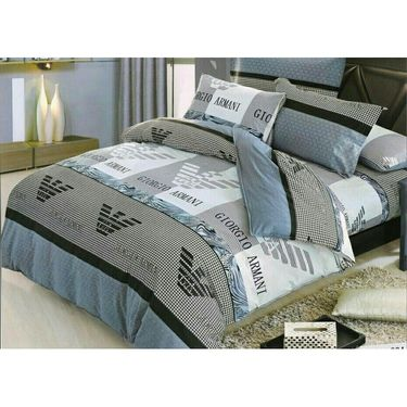 Lakshaya 100% Cotton Double Bedsheet With 2 Pillow Covers-LE-013