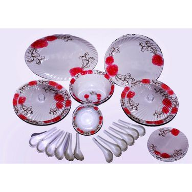 Oromax 44 Pcs Melamine Dinner Set -multicolor -LE-ORM-001