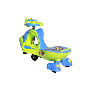 Kids Whale Swing Car Green