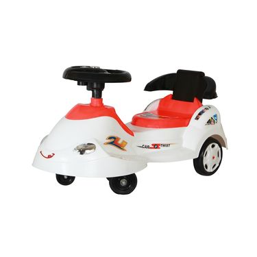 Kids Best Swing Car - Red White