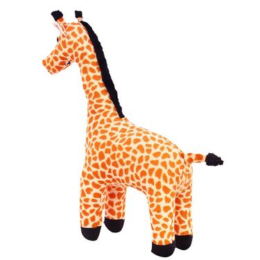 Standing Giraffe Stuff Animal 35 cm Brown