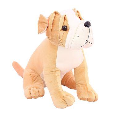 Cute Pug Stuff Animal 30 cm Stuff Toy Brown