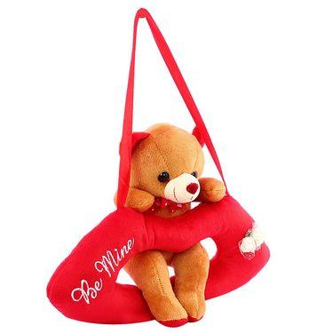 LipCute Bear Valentine Stuff Teddy - Brown