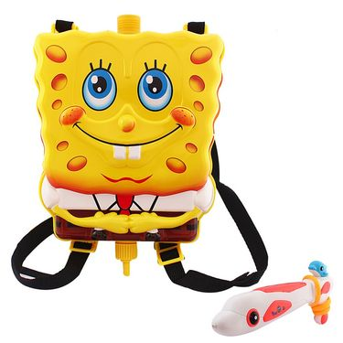 Holi Water Pichkari Back Pack Tank Squirter 2015bb - Yellow