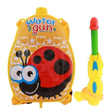 Holi Water Pichkari Back Pack Cartoon Tank Squirter F35 - Yellow