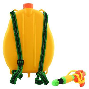Holi Water Pichkari Back Pack Tank Squirter P3110 - Yellow
