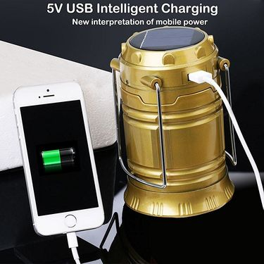 Solar Reachargeable Emergency LED Lantern