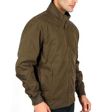 Lee Full Sleeves Cotton Jacket_Lee02 - Green