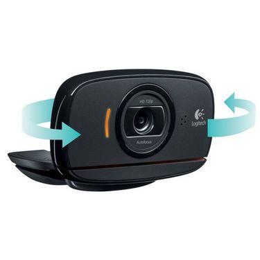 Logitech C525 HD Webcam - Black