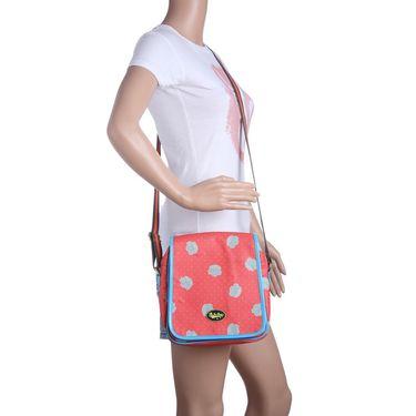 Be For Bag Canvas Clutch Sling Orange -Lumen