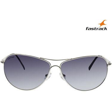Fastrack Aviator Sunglasses For Unisex_M050bu7 - Blue