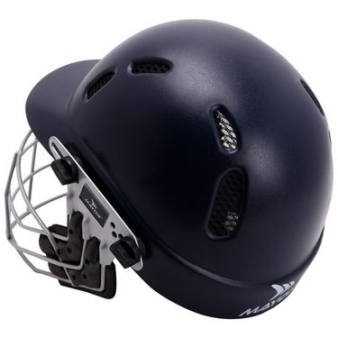 Mayor Navy Blue Phoenix Cricket Helmet - S
