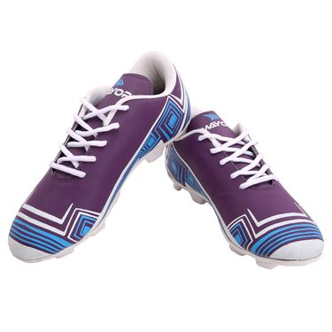 Mayor Purple - Green Casilla Football Studs - 8