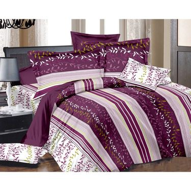 Storyathome Cotton 1 Double Bedsheet With 2 Pillow Cover-MG1084