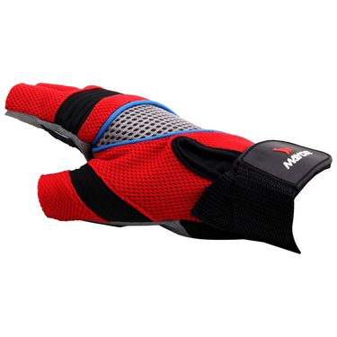 Mayor Granada Red - Black Gym Gloves  - S